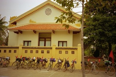 Bicycles, Hanoi, Vietnam, 1999 Fine Art Print by Terrence Nunn