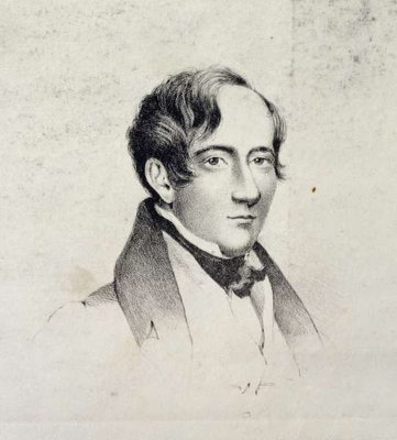 Edward Magrath (c.1791-1861), from Michael Faraday's scrapbook, 1831 (litho) Wall Art & Canvas Prints by E. W. Eddis