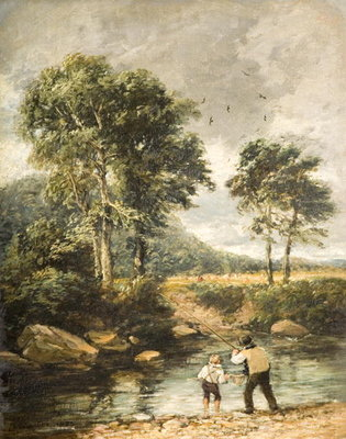 On the Lledr, 1852 Fine Art Print by David Cox