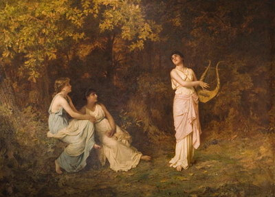 The Song, 1851 Fine Art Print by Sophie Anderson