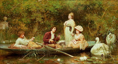 Fair, quiet and sweet rest Poster Art Print by Sir Samuel Luke Fildes