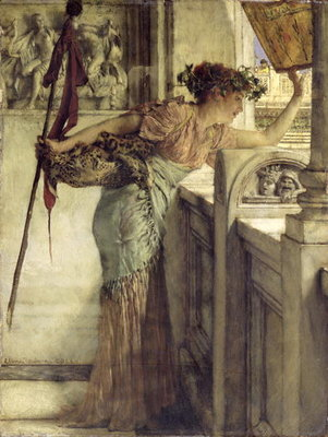 'There He Is!', 1875 Fine Art Print by Sir Lawrence Alma-Tadema