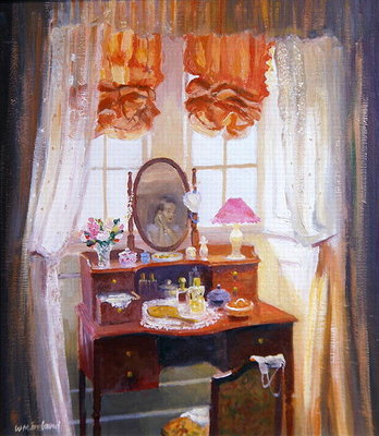 The Dressing Table Fine Art Print by William Ireland