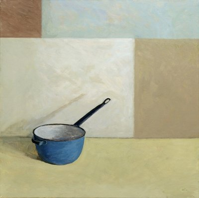 Blue Saucepan Fine Art Print by William Packer
