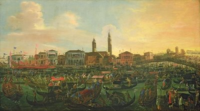 Regatta at Murano, 1648 (oil on canvas) Wall Art & Canvas Prints by Joseph, the younger Heintz