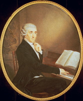 Joseph Haydn c.1795 Postcards, Greetings Cards, Art Prints, Canvas, Framed Pictures, T-shirts & Wall Art by Johann Zitterer