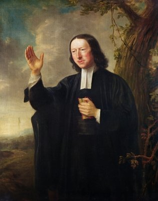 Portrait of John Wesley, c.1766 (oil on canvas) Wall Art & Canvas Prints by Nathaniel Hone