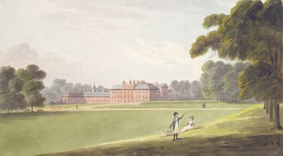 Kensington Palace (w/c on paper) Fine Art Print by John Buckler