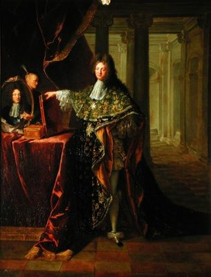 Portrait of Jean-Baptiste Colbert, marquis de Torcy (1655-1746) (oil on canvas) Wall Art & Canvas Prints by Robert Tournieres