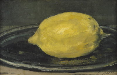The Lemon, 1880 (oil on canvas) Fine Art Print by Edouard Manet