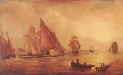Estuary of the Thames and the Medway Fine Art Print by Joseph Mallord William Turner