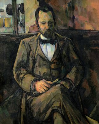 Portrait of Ambroise Vollard, 1899 (oil on canvas) Postcards, Greetings Cards, Art Prints, Canvas, Framed Pictures & Wall Art by Paul Cezanne