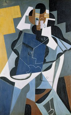 Figure of a Woman, 1917 Fine Art Print by Juan Gris