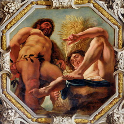 Leo, from the Signs of the Zodiac Fine Art Print by Jacob Jordaens