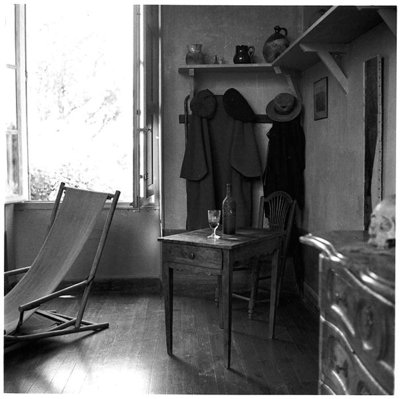 Interior of Cezanne's studio at Aix-en-Provence, c.1900-02 Fine Art Print by French Photographer