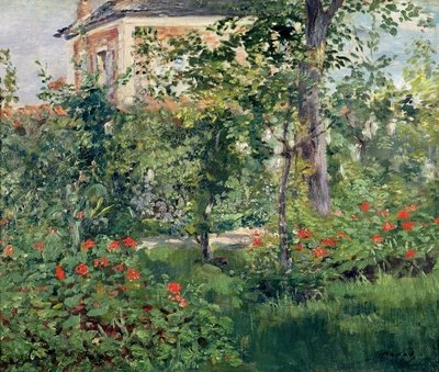 The Garden at Bellevue, 1880 Fine Art Print by Edouard Manet