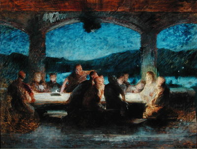 The Last Supper Fine Art Print by Jean Alexandre Joseph Falguiere