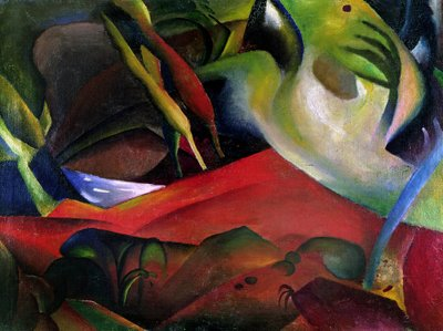 The Storm, 1911 Fine Art Print by August Macke