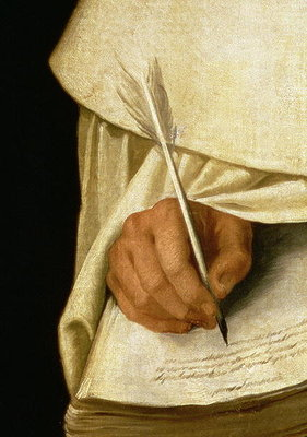 Brother Pedro Machado Fine Art Print by Francisco de Zurbaran