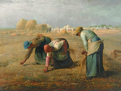 The Gleaners, 1857 Fine Art Print by Jean-Francois Millet