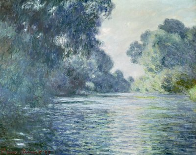 Branch of the Seine near Giverny, 1897 (oil on canvas) Wall Art & Canvas Prints by Claude Monet