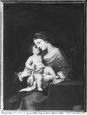 Virgin and Child Fine Art Print by Jacques Stella