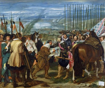 The Surrender of Breda, 1625, c.1635 Fine Art Print by Diego Rodriguez de Silva y Velazquez