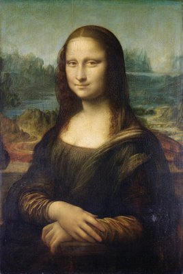 Mona Lisa, c.1503-6 (oil on panel) Wall Art & Canvas Prints by Leonardo da Vinci