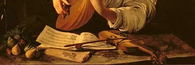 The Lute Player, c.1595 (oil on canvas) (detail of 37514) Wall Art & Canvas Prints by Michelangelo Merisi da Caravaggio