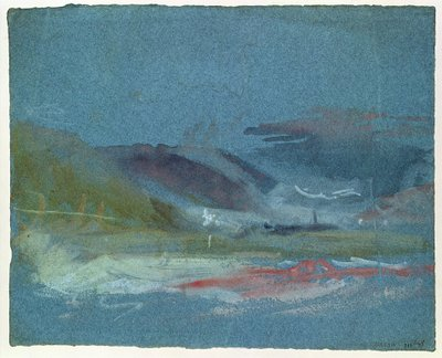 River bank, c.1830 (w/c on paper) Wall Art & Canvas Prints by Joseph Mallord William Turner