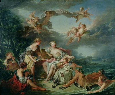 The Rape of Europa, 1747 Poster Art Print by Francois Boucher