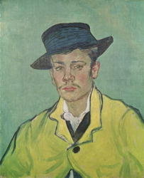 Portrait of Armand Roulin, 1888 Poster Art Print by Vincent van Gogh