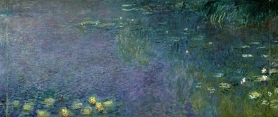 Waterlilies: Morning, 1914-18 Fine Art Print by Claude Monet