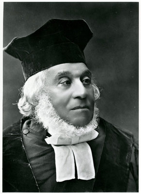 Rabbi Nathan Marcus hakohen Adler (1803-90) (b/w photo) Wall Art & Canvas Prints by English School