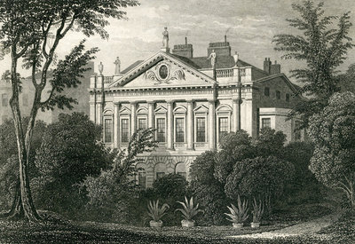 Earl Spencer's House, Green Park, 1829 (engraving) Wall Art & Canvas Prints by Thomas Hosmer Shepherd