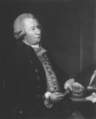 John Arnold (1736-99), engraved by Reid (engraving) (b/w photo) Fine Art Print by Robert Davy