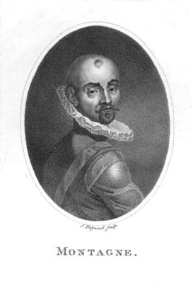 Portrait of Michel de Montaigne Fine Art Print by James, the Elder Hopwood
