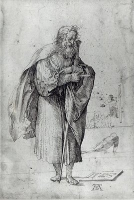 St. Paul, 1523 Fine Art Print by Albrecht Durer or Duerer