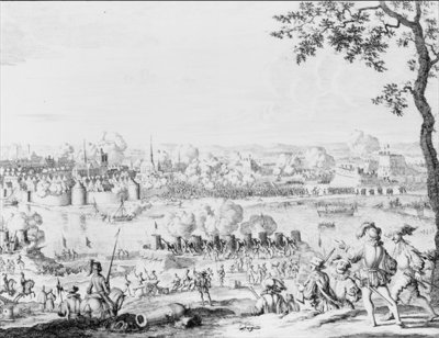 The Battle of Zutphen, 22nd September 1586 (engraving) Wall Art & Canvas Prints by Dutch School