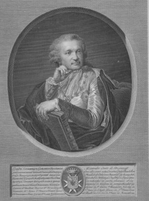 Count Stroganov, engraved by Ignaz Sebastian Klauber, 1802 (engraving) Wall Art & Canvas Prints by Johann Baptist I Lampi