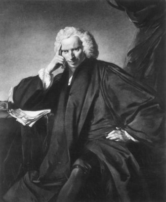 Laurence Sterne, engraved by Edward Fisher Fine Art Print by Sir Joshua Reynolds