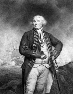 Thomas, Lord Graves, engraved by Francesco Bartolozzi (engraving) Wall Art & Canvas Prints by James Northcote
