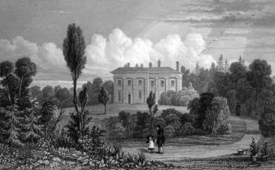 Riffhams Lodge, Essex, 1835 (engraving) Wall Art & Canvas Prints by William Henry Bartlett