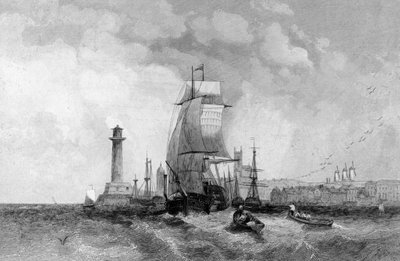 Margate, Kent, engraved by Henry Wallis, c.1830 (engraving) Wall Art & Canvas Prints by Alfred Vickers
