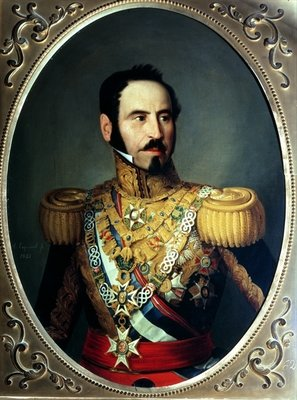 General Baldomero Espartero (1792-1879), 1842 (oil on canvas) Fine Art Print by Antonio Maria Esquivel