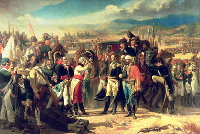 The Surrender of Bailen, 23rd July 1808 Fine Art Print by Jose Casado del Alisal