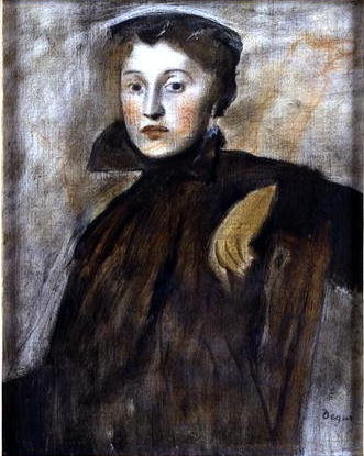 Study for a Portrait of a Lady, 1867 Fine Art Print by Edgar Degas
