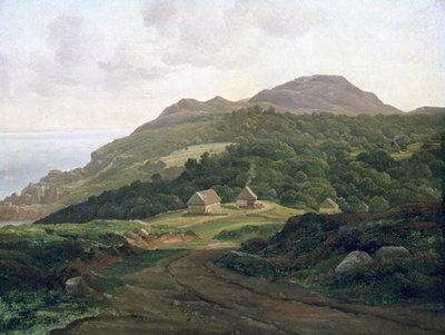 On the Swedish Coast, 1828 Fine Art Print by Carl Morgenstern