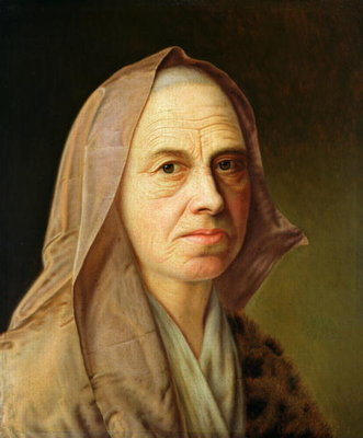 Old Woman Fine Art Print by Balthasar Denner