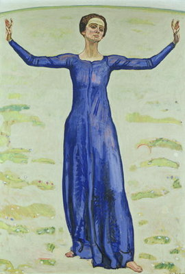 Song in the Distance, 1914 Fine Art Print by Ferdinand Hodler